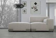 Granitoker - Cemento / La qualità di questo materiale e l'originalità del design offrono al progettista notevoli possibilità espressive, permettendo di realizzare soluzioni applicative personalizzate, che concorrono alla definizione architettonica degli interni.  / by Casalgrande Padana