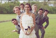 A bit of banter / Weddings don't have to be serious!
