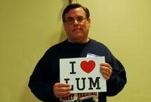 I <3 LUM Series / Local celebs who love LUM