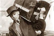 Immigration / (Ellis Island) / Vintage photographs of immigrants, Ellis Island, history