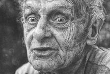 Old faces / Beauty, lines of life, wrinckly, powerful, intense, expression, wisdom