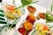 Catering y presentación de mesas