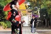 JAPANESE WEDDING SCENE