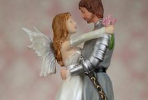 Fariytale and castle wedding cake