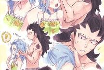 Manga Couple / GaLe ~ JuVia ~ GerZa ~ NaLu / UlquiHime ~ GrimmNel ~ RenRuki ... Enjoy :D ♥ Personally I lean more to the StingLu (Lucy x Sting ) and GrimmNel ( Grimmjow x Neliel ) and you ? :3