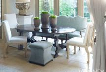 - Delightful Dinning - / Fabulous dinning. Ideas for seating. Ideas for tables.