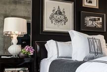 - Dramatic Decor - / Distinctive decor and design based on crisp clean lines, dark painted walls and straightforward decor. Like a handsome man in a tuxedo, very nice to look at.