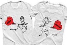 Sevgili Tişörtleri / Ruh eşinizi çoktan bulduysanız işte bu sevgili çift tişörtleri tam size göre. Sipariş için. https://modacix.com/cift-sevgili-tisortleri