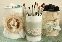 Decoupage #DIY / Collection of #DIY projects using Decoupage