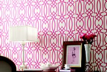 Wall Inspiration / Painted and wallpapered walls to inspire