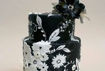 CAKES / I use to decorate cakes and loved it; however, cake decorating is now a whole new level!  I made my own wedding cake in 1984!