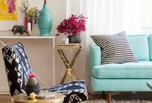 living room / living room space, inspiration / by Megan Sybrant