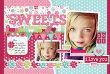 scrap booking page layouts