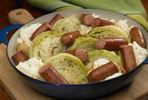 St. Patrick's Day / A collection of yummy, Irish inspired sausage recipes, for a bit o' St. Patrick's Day goodness, anytime.