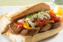 Lunch / Some favorite sausage-featuring lunch ideas and recipes from your friends in the Johnsonville kitchen. Discover awesome football game day recipes!