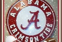 ALABAMA FOOTBALL / by Sandra Chancellor-Tew