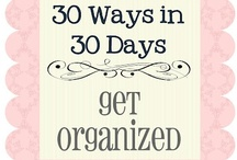 getting organized / by Ardria Smith