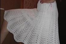 crochet adult dresses/skirts / by Joy Allen