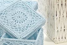 crochet baskets/boxes / by Joy Allen