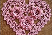 crochet hearts / by Joy Allen