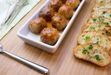 Meatballs & Sausage Slices / Recipes made with Johnsonville Meatballs and Sliced Cooking Sausage.