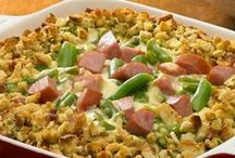 Casserole Recipes / One-pan casseroles made with Johnsonville sausage... comfort food at its best! Perfect recipes for family and potluck dinners.