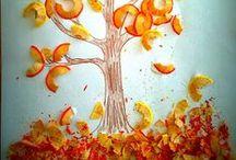 ⛅  L'automne en mode créatif ! / Retrouvez de nombreuses activités sensorielles, de stimulation et créatives lié à l'automne ses journées fraîches et les feuilles qui tombent. #handiy #diy #automne