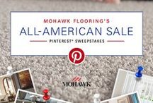 Mohawk All American Sale Pinterest Sweepstakes / Enter the Mohawk Flooring All-American Sale Pinterest Sweepstakes for a chance to win $500 or $1000 in Mohawk flooring! Sweepstakes runs from August 3 - 17, 2015. http://ow.ly/Q9olW / by Mohawk Flooring