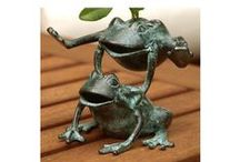 Frogs / Feeling froggy? These pieces will have you leaping with joy.