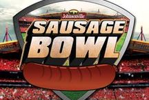 Sausage Bowl / *The Sausage Bowl Sweepstakes has ended* Share your game day sausage spread for a chance to win! 50 lucky sausage fanatics will win a Johnsonville Brat Football and a coupon for a package of Johnsonville Sausage! One lucky fan will win the grand prize of a brand new deluxe gas grill and a year's supply of Johnsonville Sausage! Sweepstakes ends February 14, 2016. #SausageBowlContest  http://sausagebowl.johnsonville.com/