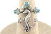 La Contessa Jewelry by Mary DeMarco / Mary DeMarco's distinctively unique lead free pewter jewelry is intricately detailed and embellished with enameled flowers and colorful stones.