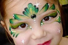 Face Painting Fun / Our middle daughter was a professional face painter - very talented, very creative, and missed very much. / by Cyndy Allen