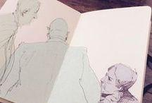SKETCHES / dessin   illustration    croquis    observation    inspiration    art
