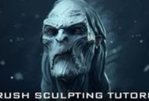 Tutorials - Zbrush / ZBrush is a digital sculpting and painting program that has revolutionized the 3D industry with its powerful features and intuitive workflows. Built within an elegant interface, ZBrush offers the world's most advanced tools for today's digital artists. With an arsenal of features that have been developed with usability in mind, ZBrush creates a user experience that feels incredibly natural while simultaneously inspiring the artist within.