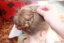 Hairstyles / Penteados de cabelo Tipos de cabelo