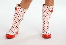 Calzado para la lluvia / calzado lluvia / by Gloria Domenech Subarroca