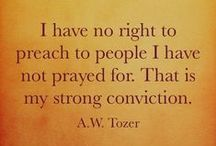 A.W. Tozer / Quotes from A.W. Tozer