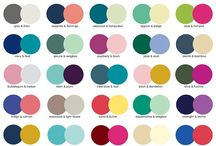 Colour Mix & Match / The colours of the rainbow and more shades and hues to choose from? Here's some tips and advice finding your colours to suit you, match and mix up.