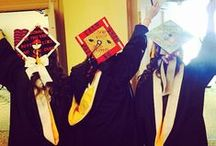 #SJCNYCaps 2015 / Here's images of the many decorated mortarboards on display during St. Joseph's College's 96th Commencement exercises. Images were curated from public social sites using the tag #SJCNYCaps or captured in person at each ceremony. / by St. Joseph's College NY