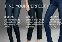 Body Shapes / Sometimes it's good to have a little reminder what styles suit our body shape.
