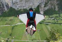 Base Jumping in Switzerland