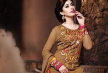 Designer Salwar Kameez / SareesBazaar.com, offers the latest and widest collection of designer salwar suit collection that includes salwar suits with heavy embroidery works, net salwar suits, bridal salwar kameez, party wear salwar kameez and much more.