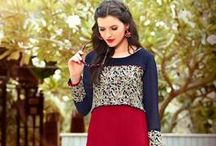 Designer Kurtis / Kurtis/Tunics, a versatile piece of attire reflects the blend of traditional and modern style. It is one of the biggest fashionable outfits created by the fashion experts. They are an ideal option for every woman as it can be worn with leggings or simply with a pair of casual jeans.