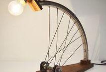 Fahrrad Basteln | Deko | DIY Anleitungen / Aus Fahrradteilen neue Dinge basteln. Zahlreiche Fahrrad Deko und DIY Anleitungen