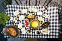 Kahvaltı / Hafta sonu bruch hafta içi serpme kahvaltımız ile hizmetinizdeyiz.