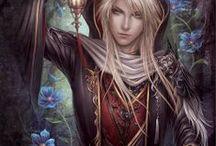 Elves / Beauty of an imaginary land.
