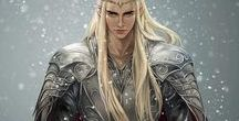 Thranduil / separated from the Elves. Just the king.