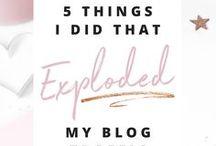 • blogging • / Blog tips • Blog inspiration • Grow your blog • Grow your socials