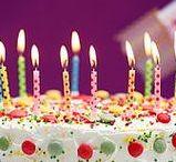 """Joyeux anniversaire ! / """"Jooooooyeux aaaaaaanniveeeeersaiiiiiiire..."""" Que serait cette chanson sans un beau gâteau sur lequel planter des bougies? Voici nos recettes de gâteaux et friandises qui raviront tous les invités d'un goûter d'anniversaire."""