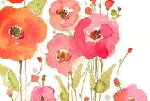 Watercolors / by Sandy SUE